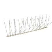 ECOBIRDS - Dissuasore d'appoggio in policarbonato con spilli inox (80 punte/mt) per gabbiani
