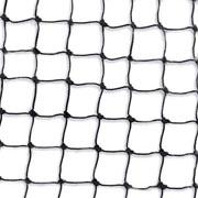 ECOBIRDS - Rete polietilene maglia 19 mm col. Nero taglio s/m fuori standard