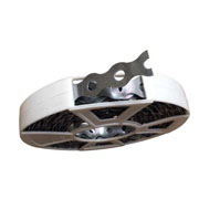 ECOBIRDS - Nastro zincato forato per ancoraggio fune