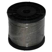 ECOBIRDS - Fune acciaio inox a trefoli diametro 1 mm